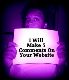 leedellthomas: make Five Comments On Your Site for $5, on fiverr.com