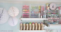 Organized craft supplies | Flickr - Photo Sharing!