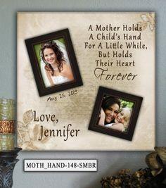 Personalized Wedding Photo Frame MOTH/HAND by PhotoFrameKeepsakes, $75.00