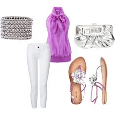 cute summer going out outfit, created by alyjenx6 on Polyvore