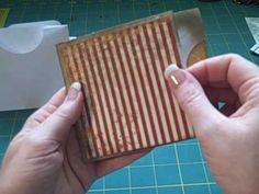 How to Make a multi-pocket/tag envelope page for mini scrapbo « Scrapbooking :: WonderHowTo Mini Scrapbook Albums, Scrapbook Paper, Envelope Scrapbook, Mini Albums, Ideas Paso A Paso, Pocket Envelopes, Mini Album Tutorial, Envelope Tutorial, Paper Trail