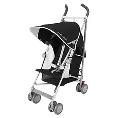 A great choice for parents who are looking for a lightweight #stroller but want the added comfort of a reclining seat. Featuring #compact fold, padded seat with b...