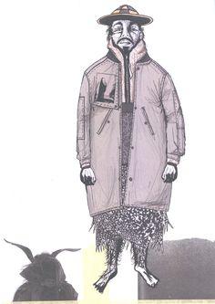 2015 Westminster Fashion illustration – Robert Newman