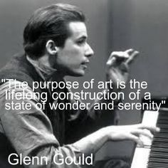 From the iconic Glenn Gould