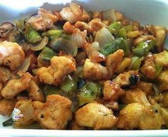 Receta de pollo agridulce, riquísimo y muy fácil de preparar, mejor que en el restaurante chino!!! #pollo #comidachina