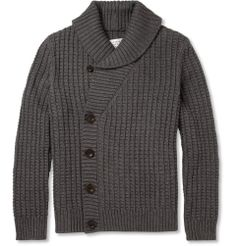 Maison Martin Margiela Chunky Cotton and Wool-Blend Cardigan | MR PORTER