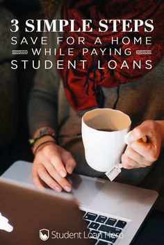 How to save for a house while paying off student loans