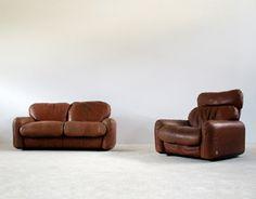 Piumotto Arrigo Arrigoni 2 + 1 seat sofa Gruppo Busnelli Italy