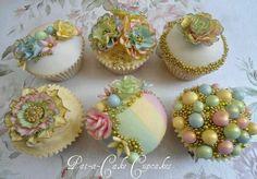 Pat a cake cupcake favors #vidadivinedesign.com  https://www.facebook.com/#!/Vida.Divine.Design