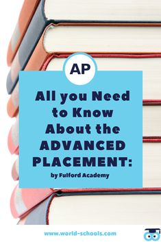 Advanced Placement is an inclusive way to successfully prepare students with the skills they need for university, the workplace and beyond. What is AP? High School Curriculum, In High School, Need To Know, Workplace, Parents, Fiction, Students, University, Facts