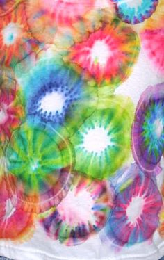 Oooh! Can't wait to try this one! :) Faerie * Dust * Dreams: How to Tie Dye with Sharpie Markers!
