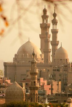 Old Cairo Trips Packages; Minarets of Sultan Hassan Mosque in Old Cairo, Egypt. Places Around The World, The Places Youll Go, Travel Around The World, Places To See, Around The Worlds, Wonderful Places, Beautiful Places, Beautiful Mosques, Amazing Places