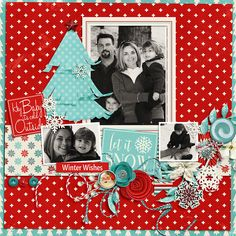 Layout: Winter Wishes