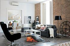 IKEA Österreich, Inspiration, Wohnzimmer, EKTORP 3er-Sofas und EKTORP ...