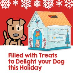 Choose from over 15 Pre-made Treat Box options- bully sticks, cow ears, and other natural dog treats!