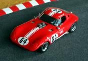"""Same car offered by two: Pheonix Race Cars/VRM and called the """"Super Cheetah"""" and later by Jens Scale Racing called the """"Cheetah Coupe GFK Body Kit"""" Resin model car kit 1/24. Based on Strombecker body but highly modified and more detailed"""