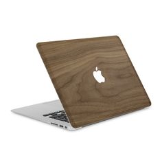 "MacBook Pro 13"" Retina — #WoodBack Skin - Cover-Up - 3"