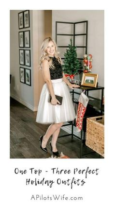 Super party look skirt outfit ideas Pleated Skirt Outfit, Skirt Outfits, Pants Outfit, Holiday Party Outfit, Holiday Outfits, Silvester Outfit, Holiday Fashion, Holiday Style, New Years Eve Outfits