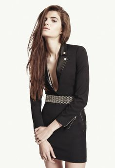 a pity it is not a dress *ggg* cool look - The Kooples