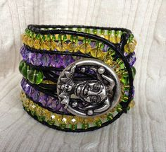 Hey, I found this really awesome Etsy listing at https://www.etsy.com/listing/183383095/5-row-colorful-leather-wrap-bracelet