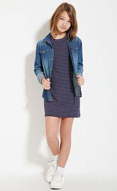 Teen dresses fashionable tops for teenage girls teenage girl fashion shops Teenage Girl Outfits, Kids Outfits Girls, Little Girl Outfits, Little Girl Fashion, Tween Girls, Kids Girls, Girls School, Junior Fashion, Tween Fashion