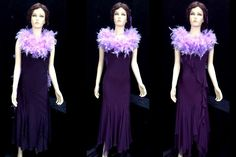 The Tallulah number in Act II looks great with showgirls in long floaty dresses . (but we have other styles too) Costume Hire, Costumes, Bugsy Malone, Floaty Dress, Stage Show, Showgirls, Looks Great, Number, Dresses
