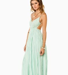 MAYBE I'M DREAMING MAXI DRESS IN MINT is now part of the #maxidresses collection on Haute Day. Check out http://hauteday.com/