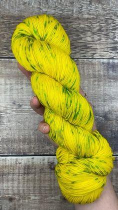 Blue Faced Leicester - Hand dyed yarn from Wild Atlantic Yarns #knitting #strikke #yarnlove #yarnspirations #crochet #yellow Loom Weaving, Hand Weaving, Spinning Yarn, Hand Dyed Yarn, Leicester, Yarn Colors, Yarn Crafts, Yarns, Yellow