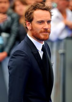 Character Inspiration: Dad's Best Friend (Michael Fassbender, Ginger)