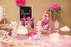 Candy table pink )))