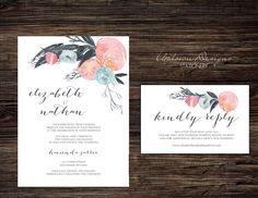 Wedding Suits, Our Wedding, Printable Wedding Invitations, Papers Co, Paper Texture, Letterpress, Rose Quartz