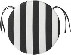 Bullnose Round Outdoor Chair Cushion