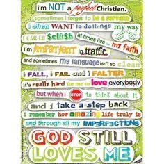 God still loves me.God Will, Vinyls Decals, Inspiration, Perfect ...