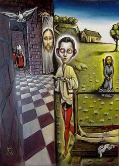 painting by Antonio Roybal