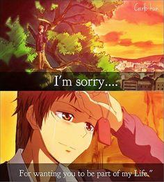 I'm sorry Anime: kaichou wa maid-sama