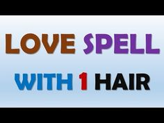 Put one of your hair next to your love's photo you will be amazed to see the results Good Luck Spells, Free Love Spells, Cast A Love Spell, Love Spell That Work, Hoodoo Spells, Magick Spells, Truth Spell, Love Binding Spell, Witchcraft Spell Books