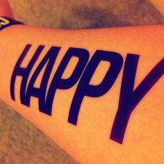 Happy color run