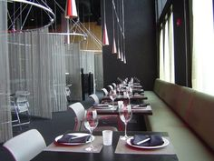 TATU Restaurant in Hard Rock, hollywood, FL Went there and it is so funky and cool looking.