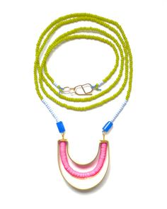 The Olive Prisma Necklace by JewelMint.com, $75.00