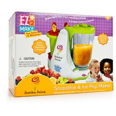 I need this if we're not moving to a place where they have Jamba Juice stores everywhere (anytime soon). It's a Jamba Smoothie Maker! Ahhh!