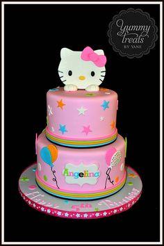 Hello Kitty Birthday Party Cake ball Hello kitty and Hello kitty cake