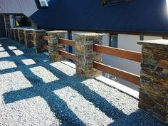 Cape Brown Column Blox - cool fences