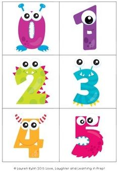 A FREE counting game for little learners. Would be great if the monsters had the correct number of eyes. Monster Party, Love Monster, Little Monster Birthday, Monster Birthday Parties, Monster Decorations, School Decorations, Halloween Decorations, Monsters Inc, Little Monsters