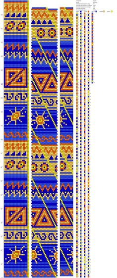 Жгуты из бисера схемы                                                                                                                                                     Mehr