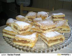 CUKR'AŘSK'E JABLEČNÉ ŘEZY Czech Recipes, Ethnic Recipes, Desert Recipes, Apple Pie, Nutella, Baked Goods, Breakfast Recipes, Sweet Tooth, Deserts