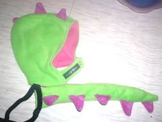 Dinosaur costume! hat and tail!!