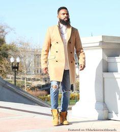 """""""@ahki_dc #blackmenwithbeards #melanin #blackmen #blackman #black #blackmenwithstyle #beardlife #blackmenrock #blackmenkillingit #beardedblackmen…"""""""