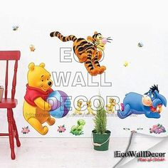 PEEL and STICK Kids Nursery Removable Vinyl Wall by EcoWallDecor, $18.00