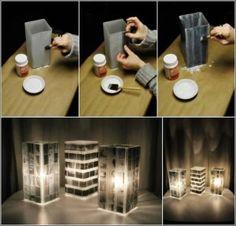 Personnaliser une lampe avec de vieilles pellicules photo