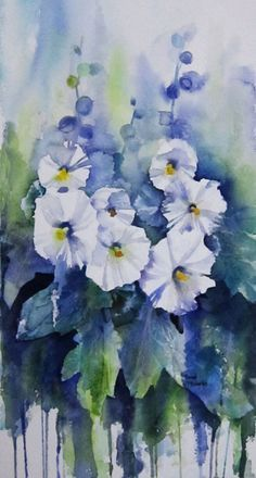 Rachel Mcnaughton - Hollyhocks 2.jpg